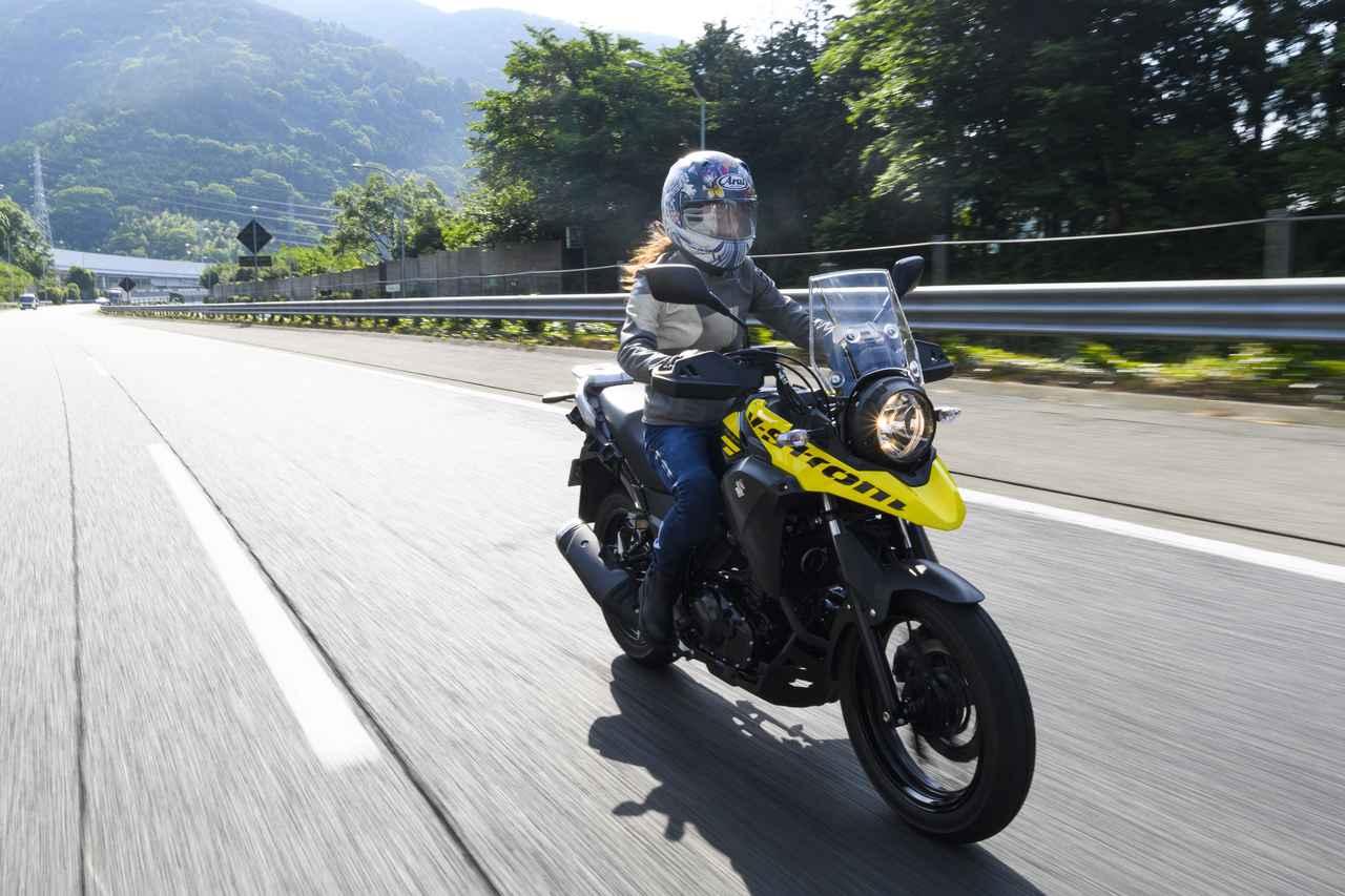 画像1: 葉月美優×SUZUKI V-Strom250 ABS【オートバイ女子部のフォトアルバム】