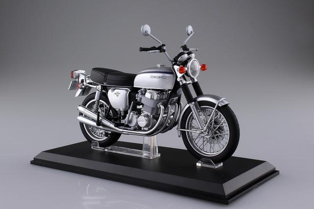 画像: 1/12 完成品バイク Honda CB750FOUR(K2) シルバー