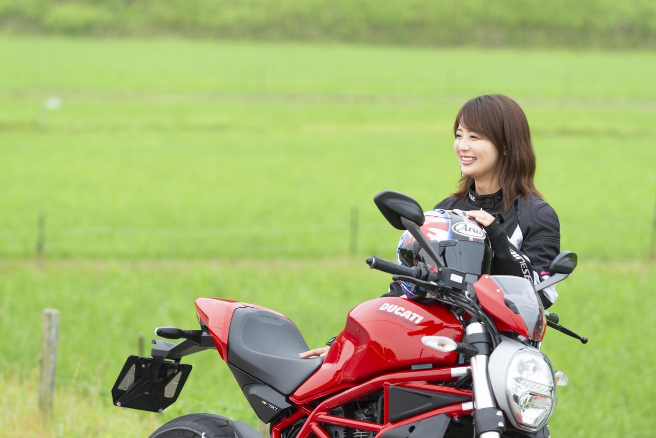 Images : 2番目の画像 - 「平嶋夏海の「つま先メモリアル」(第4回:Ducati モンスター797)」のアルバム - LAWRENCE - Motorcycle x Cars + α = Your Life.