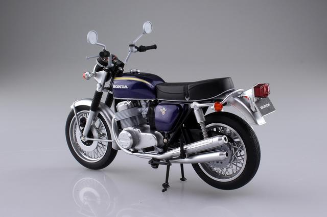 画像2: 1/12 完成品バイクの「Honda CB750FOUR」に新規金型の「K2」仕様登場