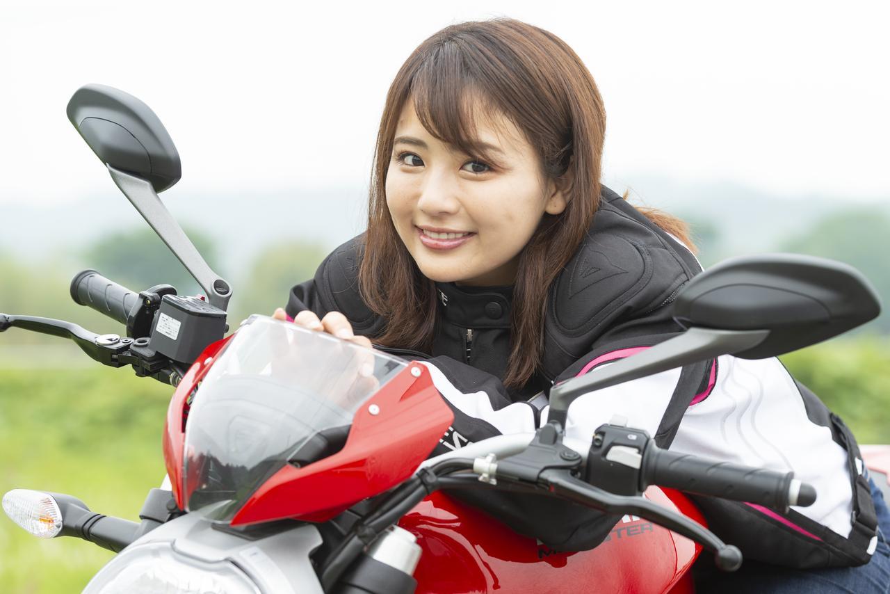 Images : 4番目の画像 - 「平嶋夏海の「つま先メモリアル」(第4回:Ducati モンスター797)」のアルバム - LAWRENCE - Motorcycle x Cars + α = Your Life.
