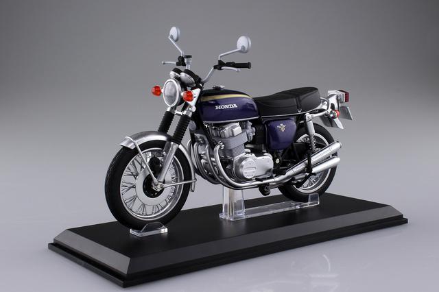 画像1: 1/12 完成品バイクの「Honda CB750FOUR」に新規金型の「K2」仕様登場