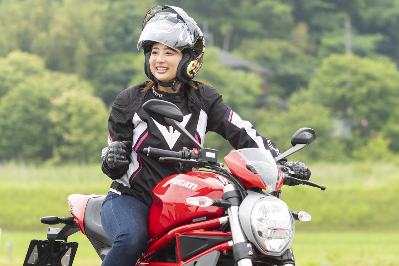 Images : 7番目の画像 - 「平嶋夏海の「つま先メモリアル」(第4回:Ducati モンスター797)」のアルバム - webオートバイ