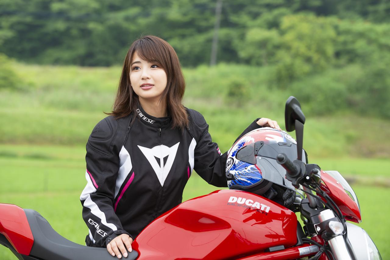 Images : 3番目の画像 - 「平嶋夏海の「つま先メモリアル」(第4回:Ducati モンスター797)」のアルバム - LAWRENCE - Motorcycle x Cars + α = Your Life.