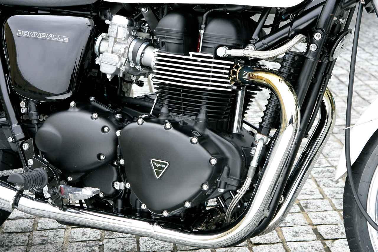 Images : 5番目の画像 - 「【絶版名車アーカイブ】英国車の魅力を余すところなく凝縮した1台『TRIUMPH BONNEVILLE』(2014年)」のアルバム - webオートバイ