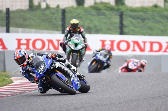 画像: 最後は#23パークス スピードはもちろん、レース運びがうまい勝ち方でした