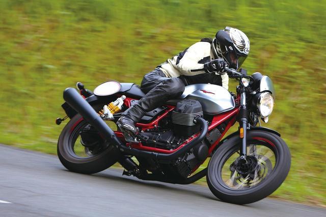 画像: <試乗インプレ>MOTOGUZZI V7III RACER(2017年) - webオートバイ