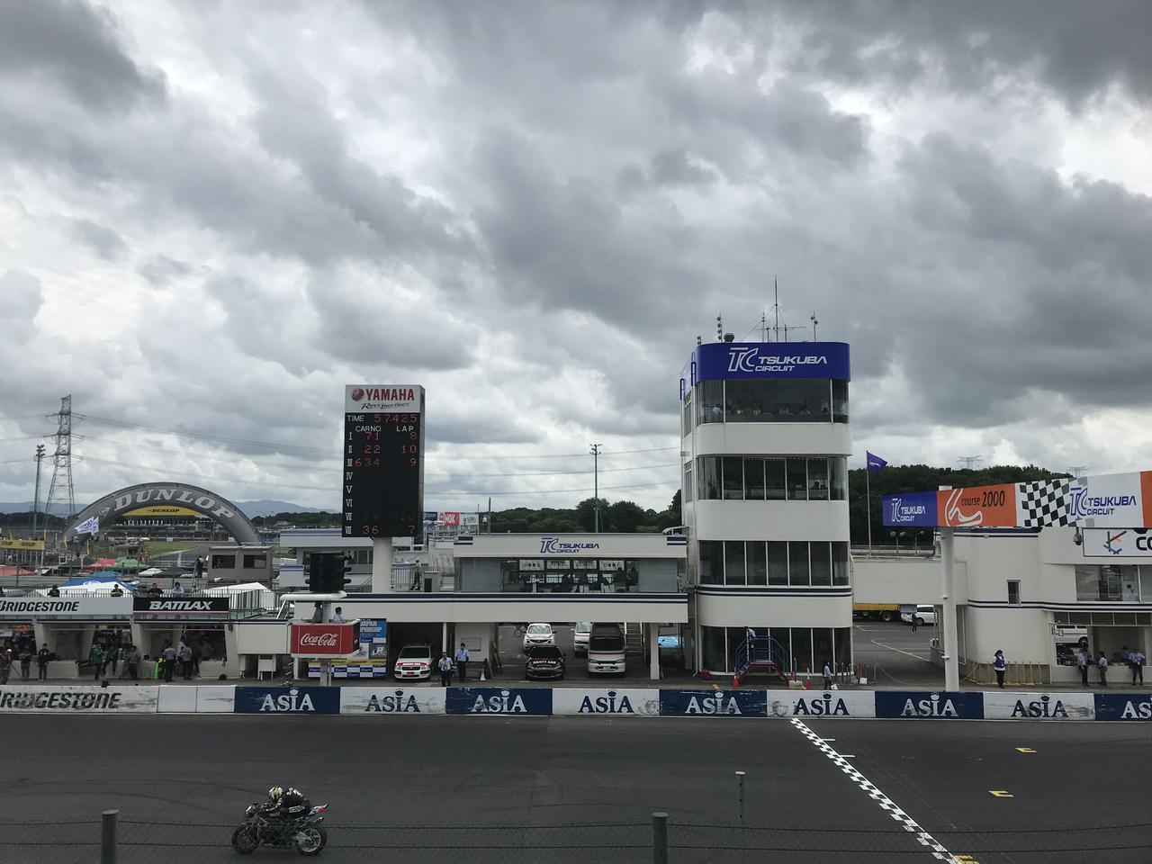 画像: 筑波サーキットで2輪のレースを観るのは初めてなんです!