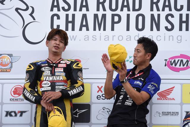 画像: RC甲子園のチーム監督は、元スズキワークスで全日本スーパーバイクチャンピオンも獲った梁 明