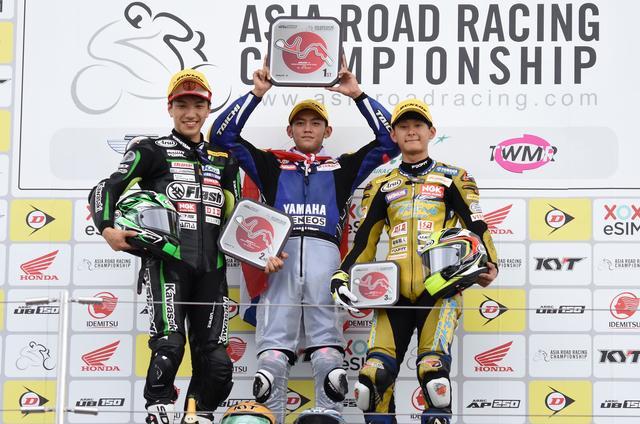 画像: 日本人ライダーがふたり、表彰台に立ちました