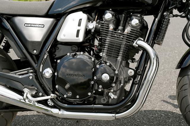画像3: 往年のビッグバイクの感触を思わせる仕上がり