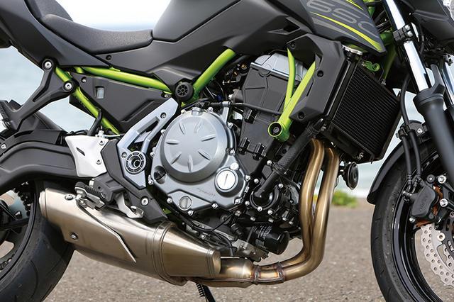 画像: スペックの数値こそ68PSだが、熟成を重ねたパラレルツインエンジンは、数値以上にパワフルで爽快なフィーリングが光る。