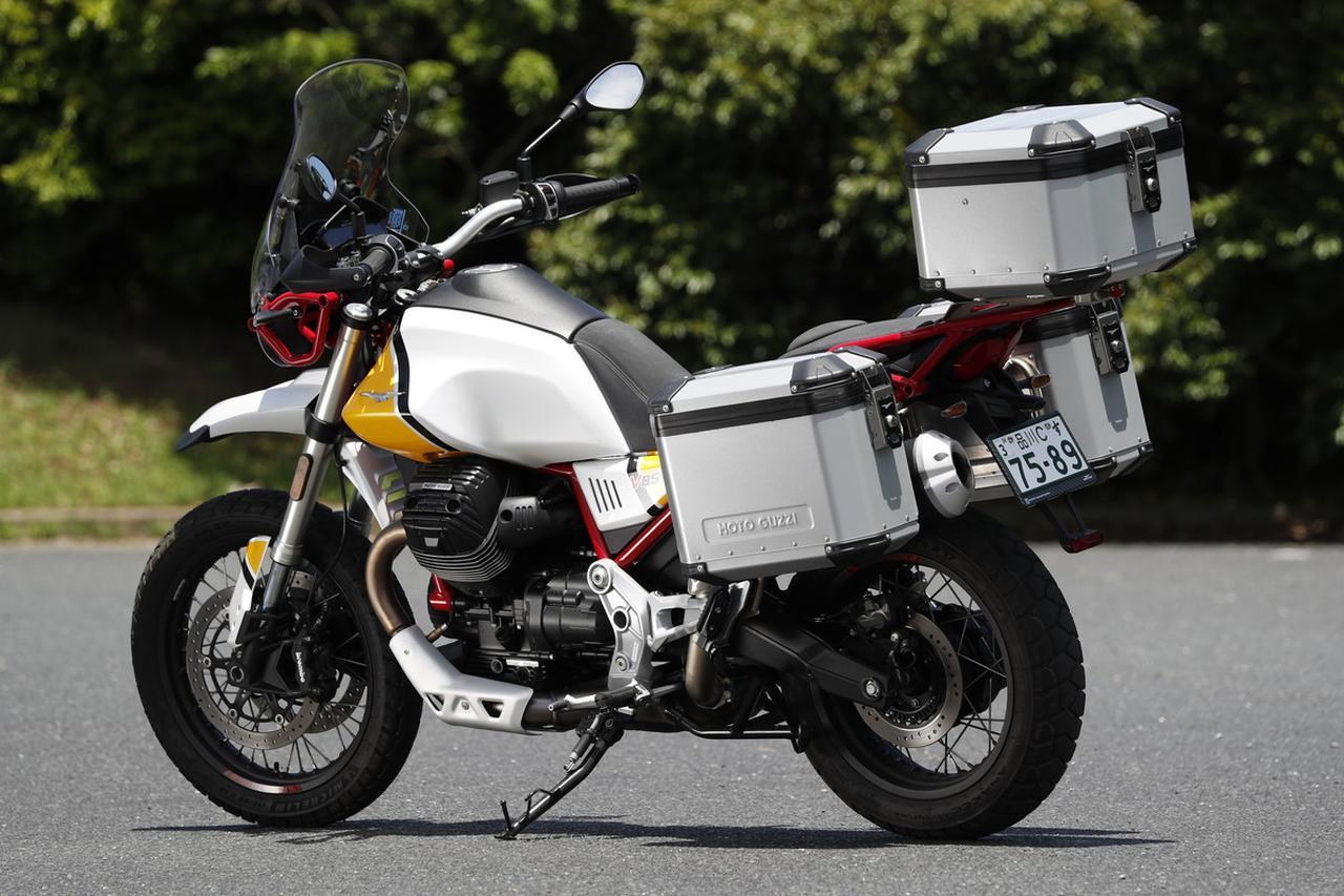画像: MOTO GUZZI V85TT 価格:139万8600円/142万5600円(プレミアムグラフィック)