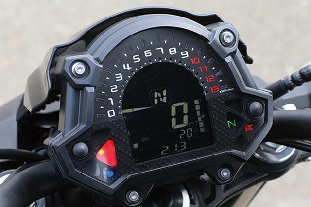 画像15: いま、ミドルスポーツが狙い目! 注目モデル4機種をとことん試乗比較!『CB650R / MT-07 / SV650 / Z650』