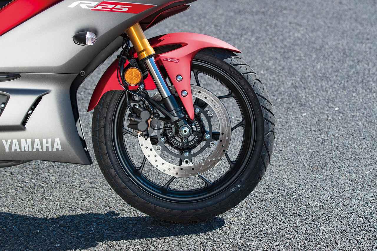 Images : 4番目の画像 - 「【比較試乗】新型R25登場でますます充実!乗って楽しい本格スポーツ『NINJA250 / YZF-R25 / CBR250RR / GSX250R』」のアルバム - webオートバイ