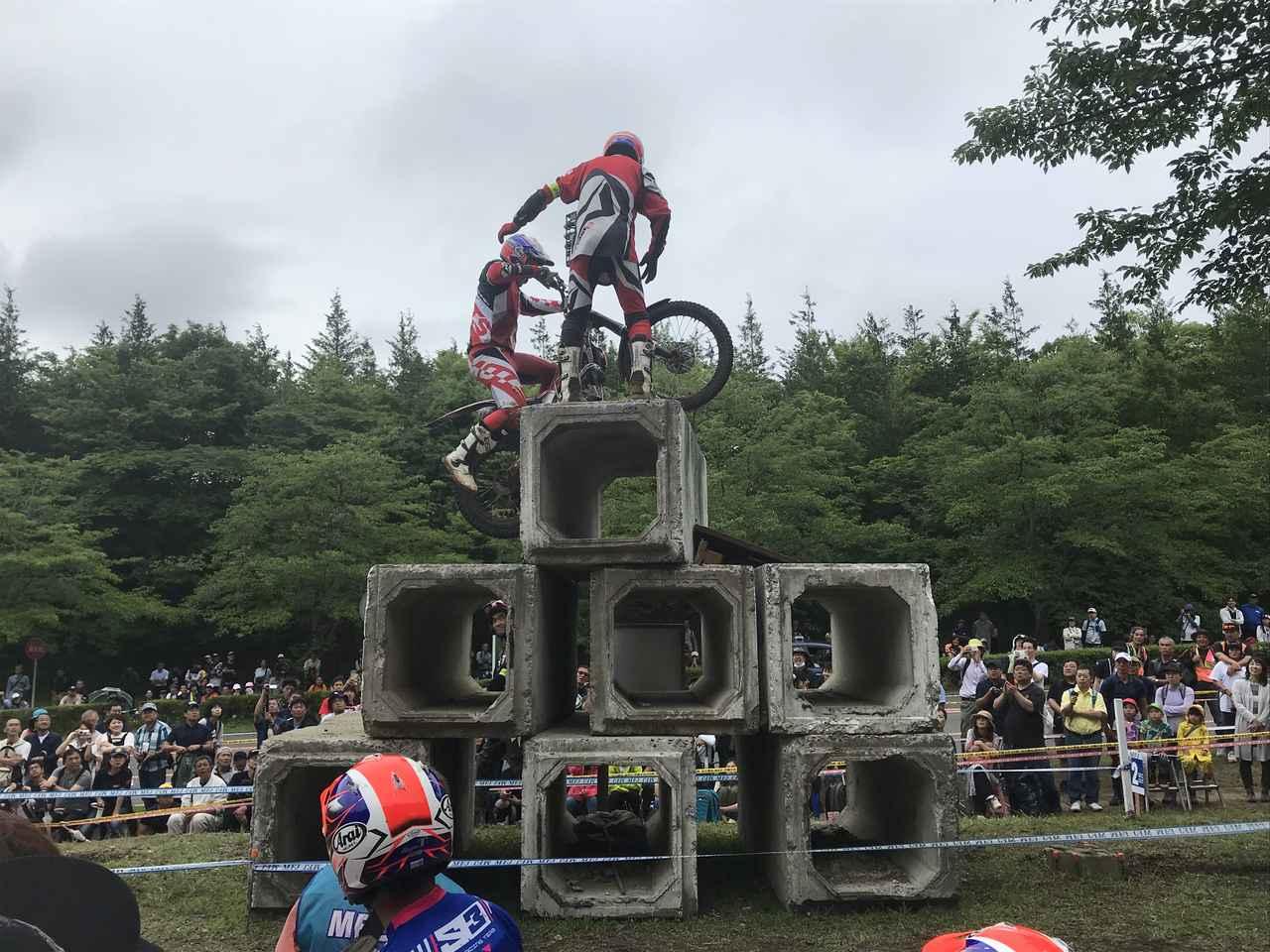 画像3: 6月22日の全日本ロードレースに引き続き、翌23日はツインリンクもてぎの全日本トライアルへ!