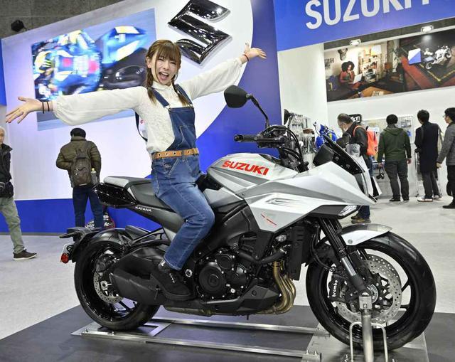 画像: 2019年3月、大阪モーターサイクルショーで初対面!