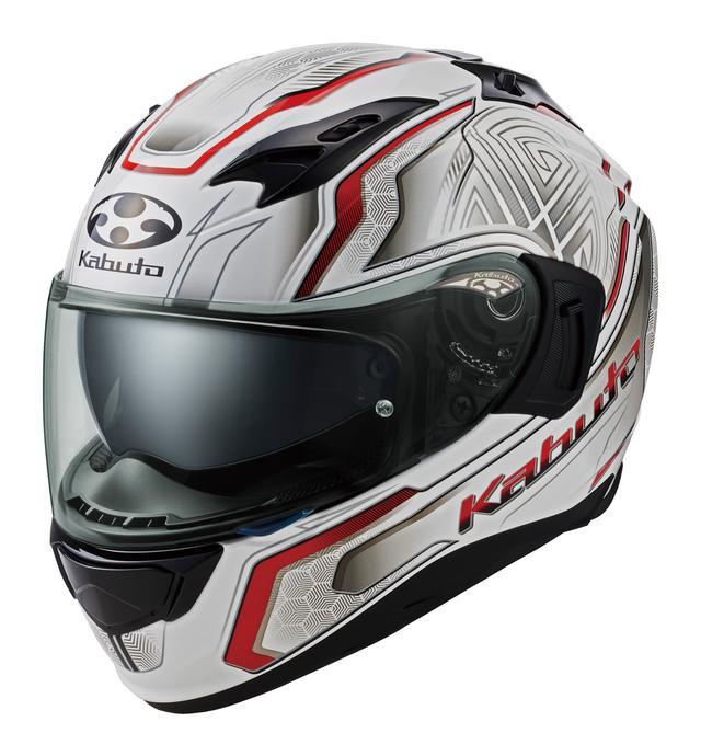 画像2: Kabutoの最新フルフェイスヘルメット「KAMUI-3」にフランス人アーティストが手掛けたグラフィックモデル「CIRCLE」が登場!