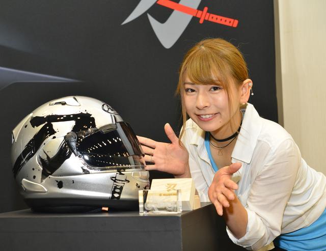 画像: アライヘルメットとのコラボヘルメットも話題になりましたね!