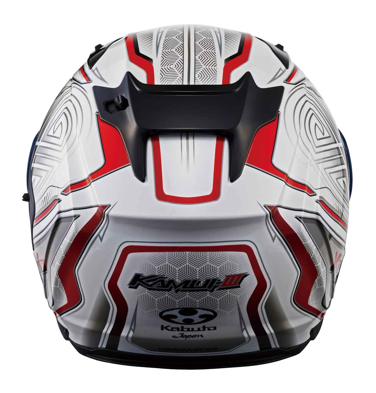 画像3: 発売されたばかりの注目のヘルメットに早くもグラフィックモデルがラインナップ