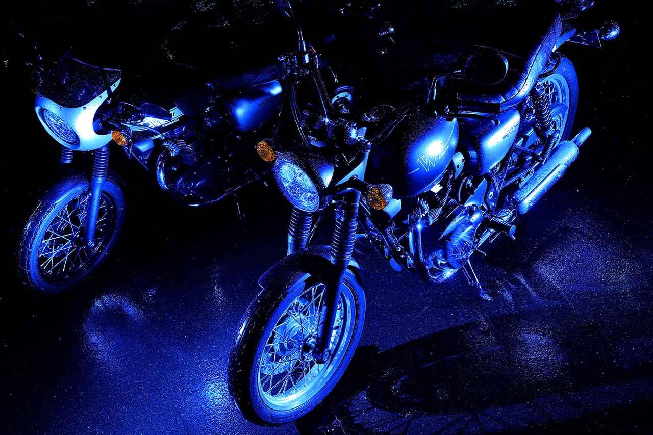 画像: 平嶋夏海さんの写真とコメントも入ったW800シリーズの記事は、こちらのウェブサイトに掲載中。どうぞ合わせてご覧ください。 special.kawasaki-motors.com