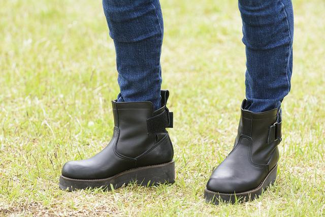 画像1: ブーツ「EG-BLACK(A)」税別24,800円