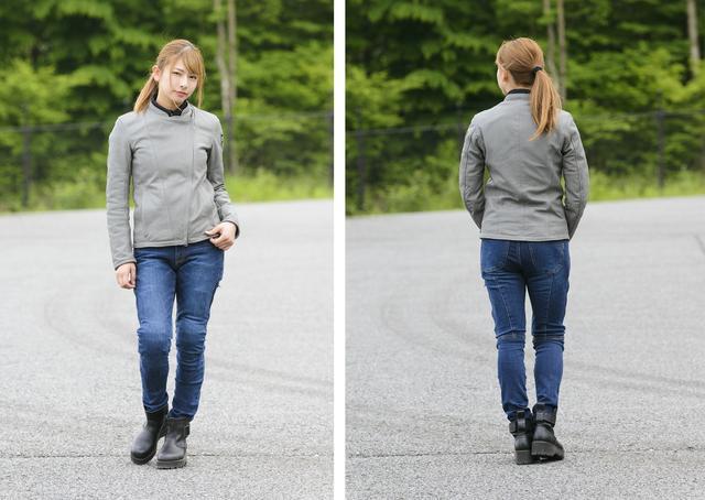 画像: グレーのレザージャケットは初めて! かっこよくて合わせやすくて便利でした♡