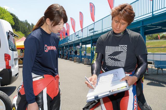 画像: そして、大関さおりさんが参加したCBR250R/RRクラスは伊藤真一さんが担当!