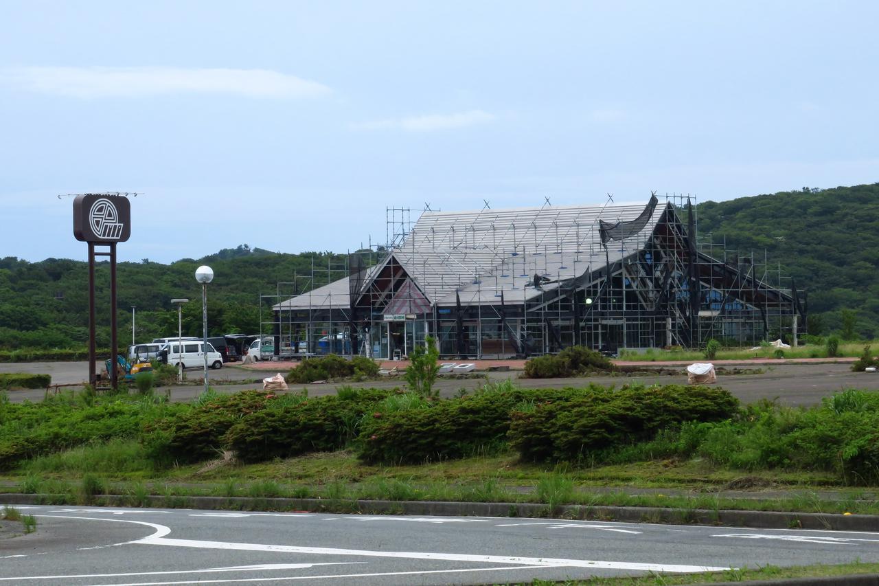 画像: 8月6日のオープンに向け現在、施設は工事中だ