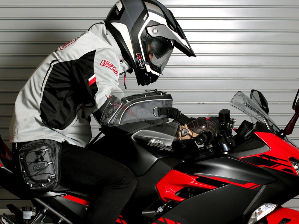 画像2: 燃料タンクに優しい設計のマグネット式タンクバッグ
