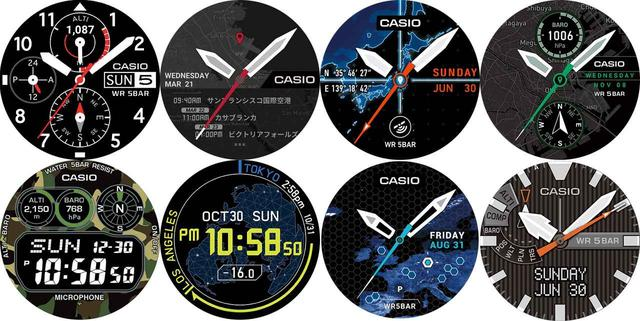 画像: どれにするか迷うほど!? 時計のデザインは選べるマルチインターフェース