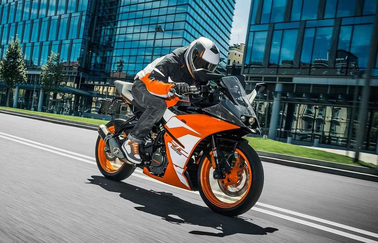画像: KTM RC 125/税込55万円