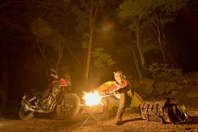 画像4: キャンプツーリングという楽しみを20年近くに渡りサポートし続けるTANAX「キャンピングシートバッグ2」