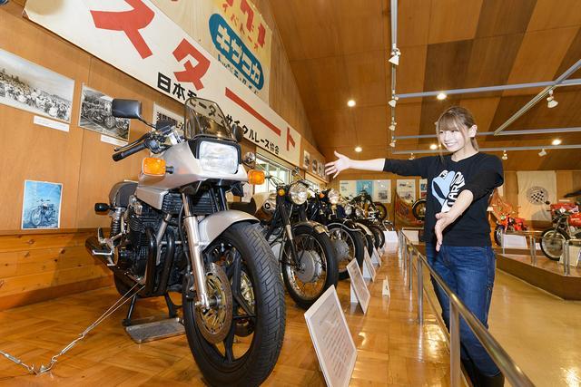 画像6: 「浅間記念館」でバイク見学&「浅間火山博物館」が楽しい!