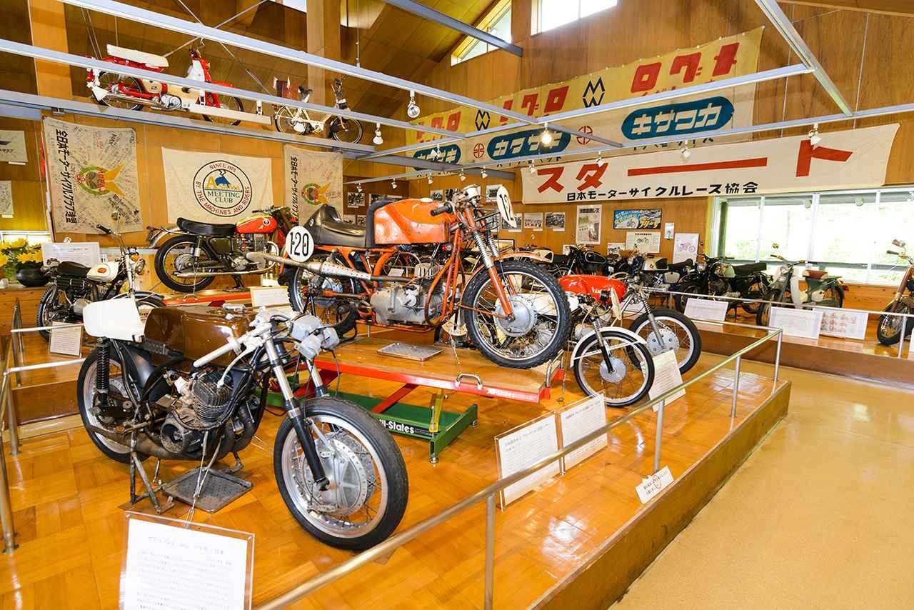 画像4: 「浅間記念館」でバイク見学&「浅間火山博物館」が楽しい!