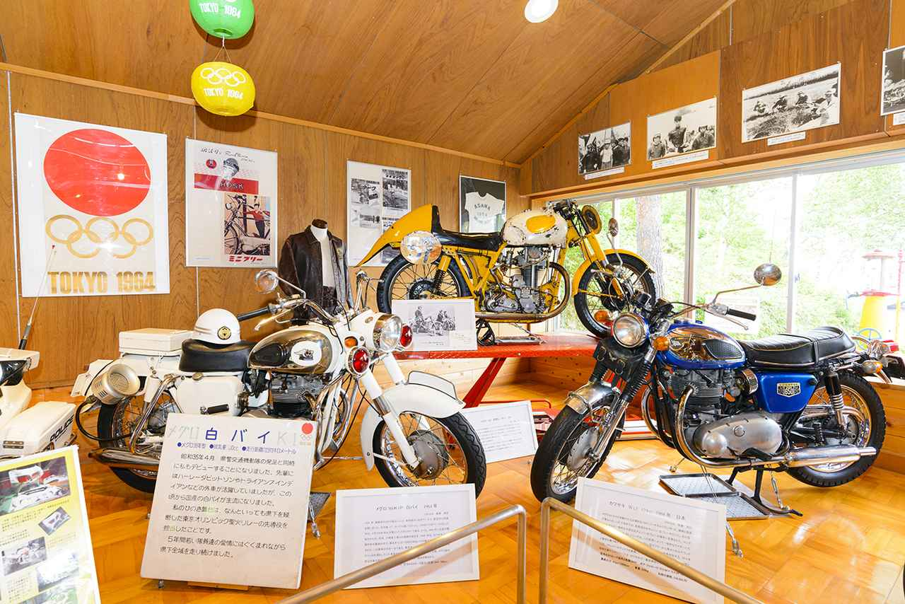 画像: 2020年のオリンピック開催に合わせて、いまは1964年の東京オリンピックにちなんだ展示もあります!
