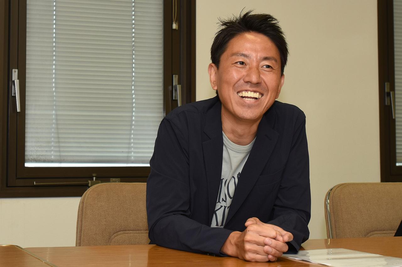 画像: いちバイク好き丸出しのインタビューに終わった福ちゃん ホンダファンでヤマハ好き、スズ菌保有者でカワサキマニアですw