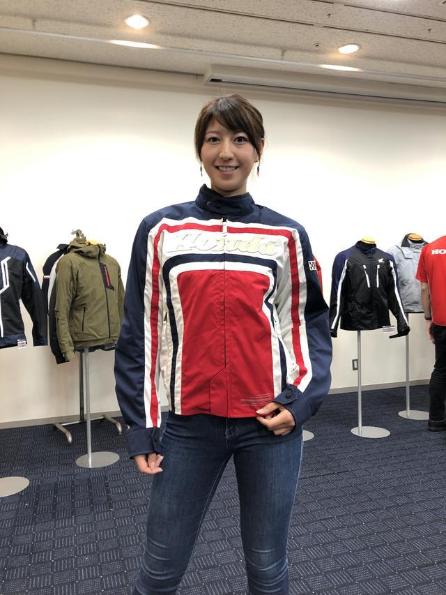 画像: オートバイ女子部の大関さおりさん、突如モデルとして登場!