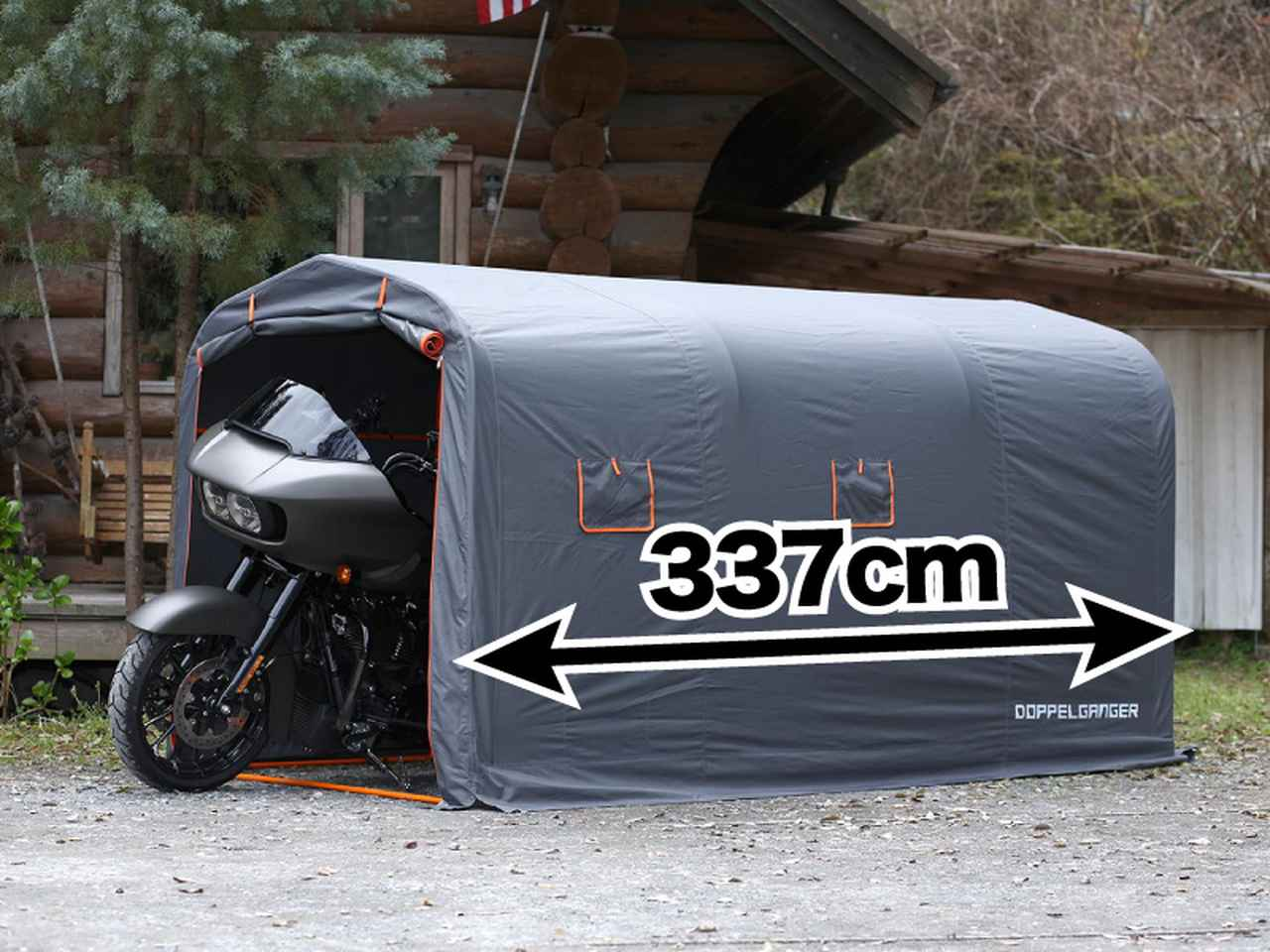 画像2: 簡易式でも、このサイズならガレージライフを充分楽しめる!