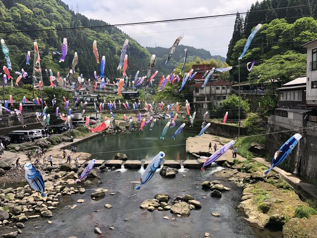 画像3: 杖立温泉(熊本県阿蘇郡小国町)