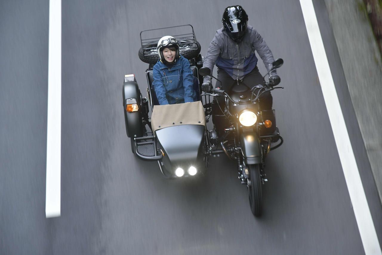 画像1: 進化するウラルサイドカーはあらゆる道を制覇する URAL:GEAR-UP SPORTSMAN