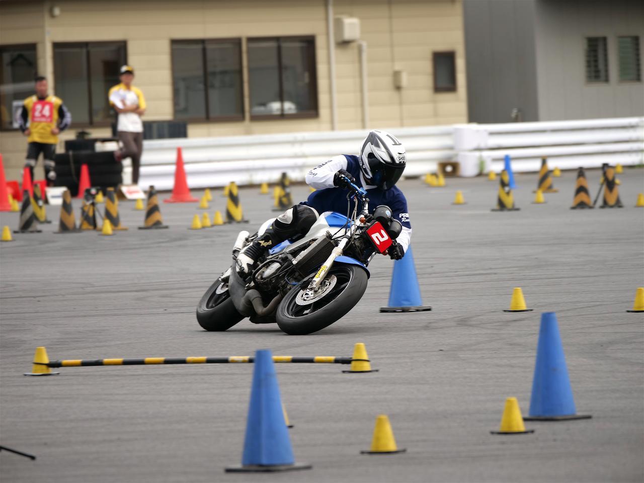 画像: A級1位・池田秀一選手&NSR250R