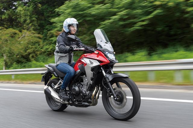 画像3: 400Xは誰にでも乗りやすいサイズ感で実用性の高いアドンベンチャーバイクですね(伊藤)