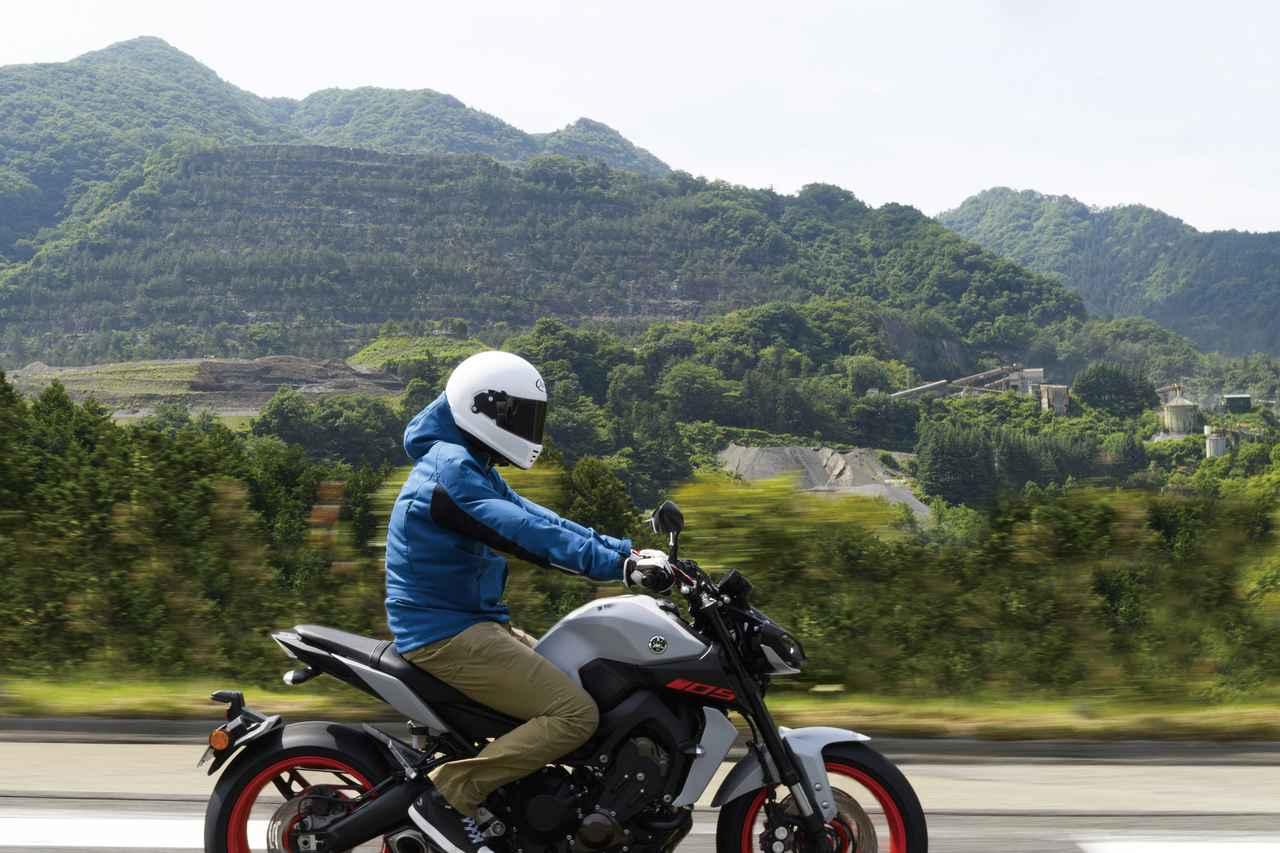 画像1: ――ここは、バイクで来る!