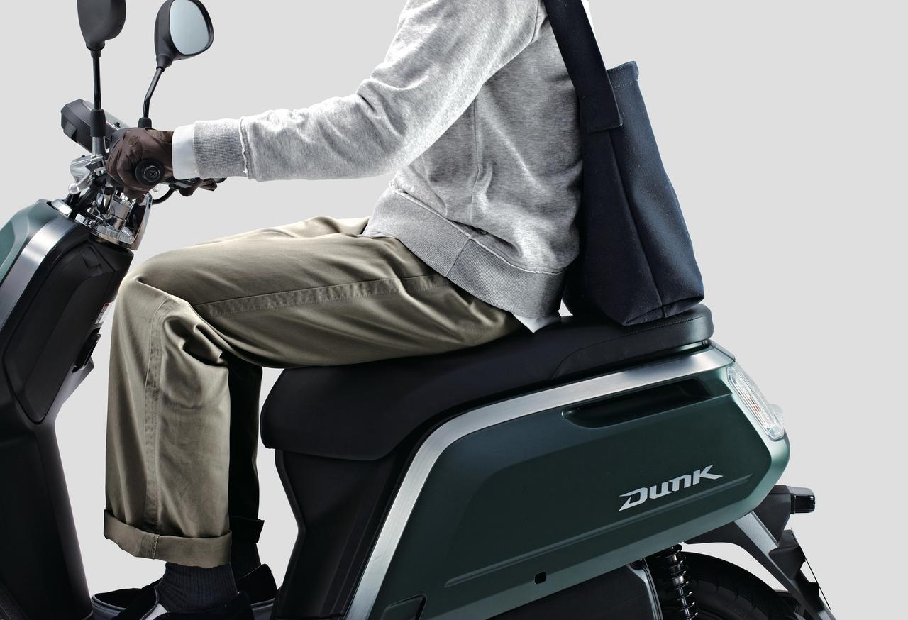 Images : 10番目の画像 - 「当時、12年ぶりにホンダがリリースした50ccスクーターでした『ホンダ DUNK』(2014年) #試乗インプレ」のアルバム - webオートバイ