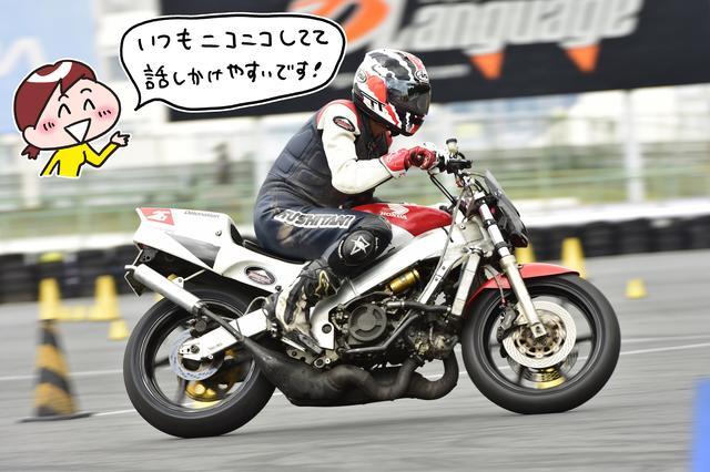 画像: 中嶋秀和選手(Aシード) Photo 小松信夫