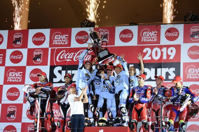 画像: 幻の表彰台となりましたが、ヤマハファクトリーレーシングもホンダレーシングもTSRホンダも名勝負をありがとう!