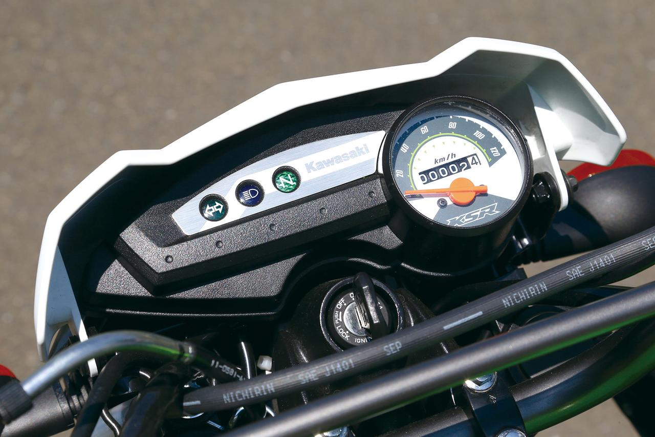 Images : 10番目の画像 - 「クラッチがついて走る楽しさ倍増!『KAWASAKI KSR PRO』(2014年) #試乗インプレ」のアルバム - webオートバイ