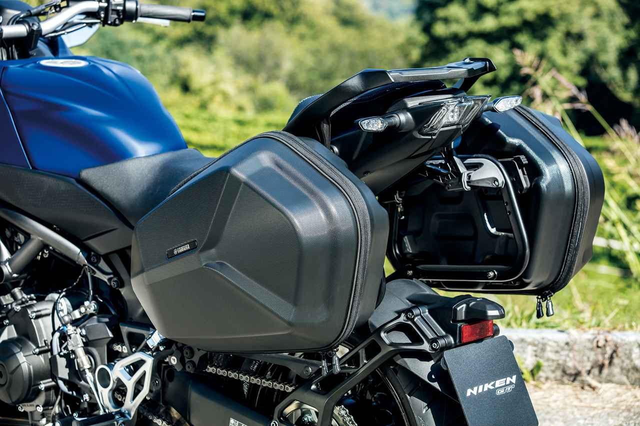 Images : 11番目の画像 - 「ロングランの快適性を一層高めた3輪GTツアラー!『YAMAHA NIKEN GT』(2019年) #試乗インプレ」のアルバム - LAWRENCE - Motorcycle x Cars + α = Your Life.