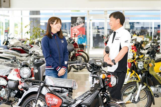 画像: 「群馬は土地が広くてバイクを停める場所に困らないし、ちゃんと保管できるから盗難被害もほとんど聞きません。バイク好きに優しい土地です」と渡辺店長。